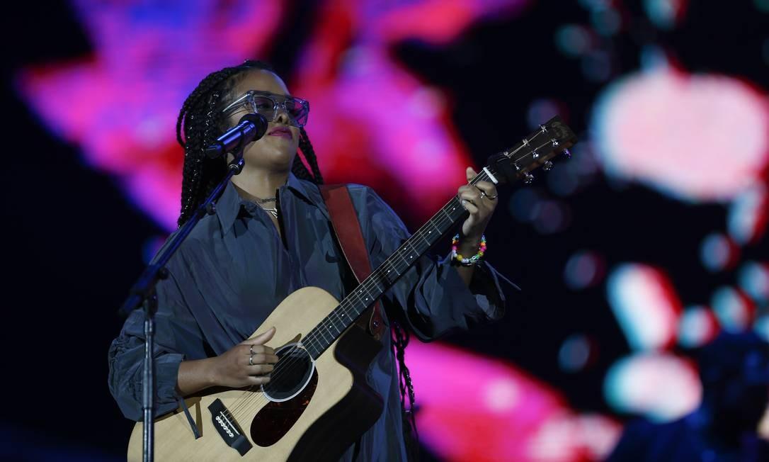 H.E.R é a revelação do momento no R&B Foto: Pablo Jacob / Agência O Globo