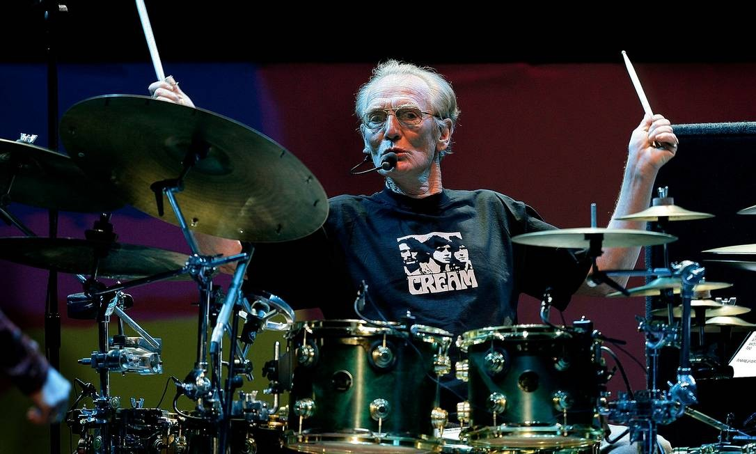 Ginger Baker, baterista do supergrupo Cream, morreu aos 80 anos neste sábado Foto: Dylan Martinez / REUTERS