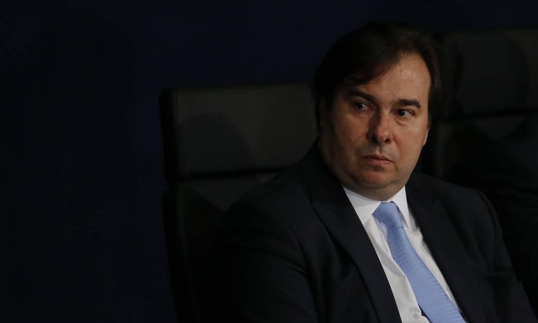 O presidente da Câmara, Rodrigo Maia 02/10/2019 Foto: Jorge William / Agência O Globo