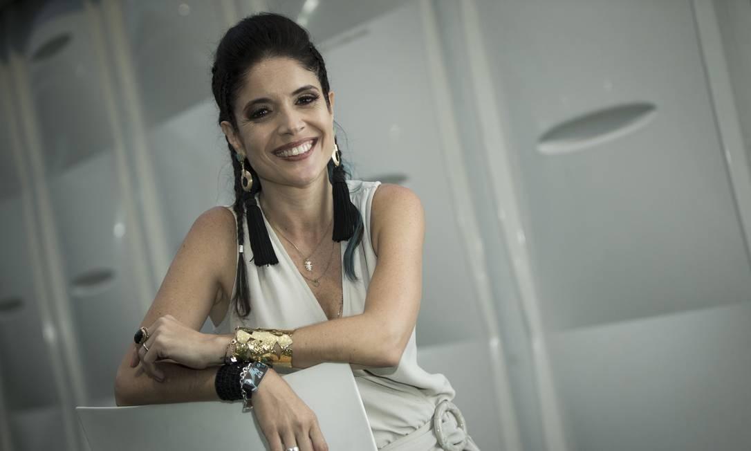 Roberta Medina fez um balanço sobre esta edição do Rock in Rio Foto: Guito Moreto / Agência O Globo
