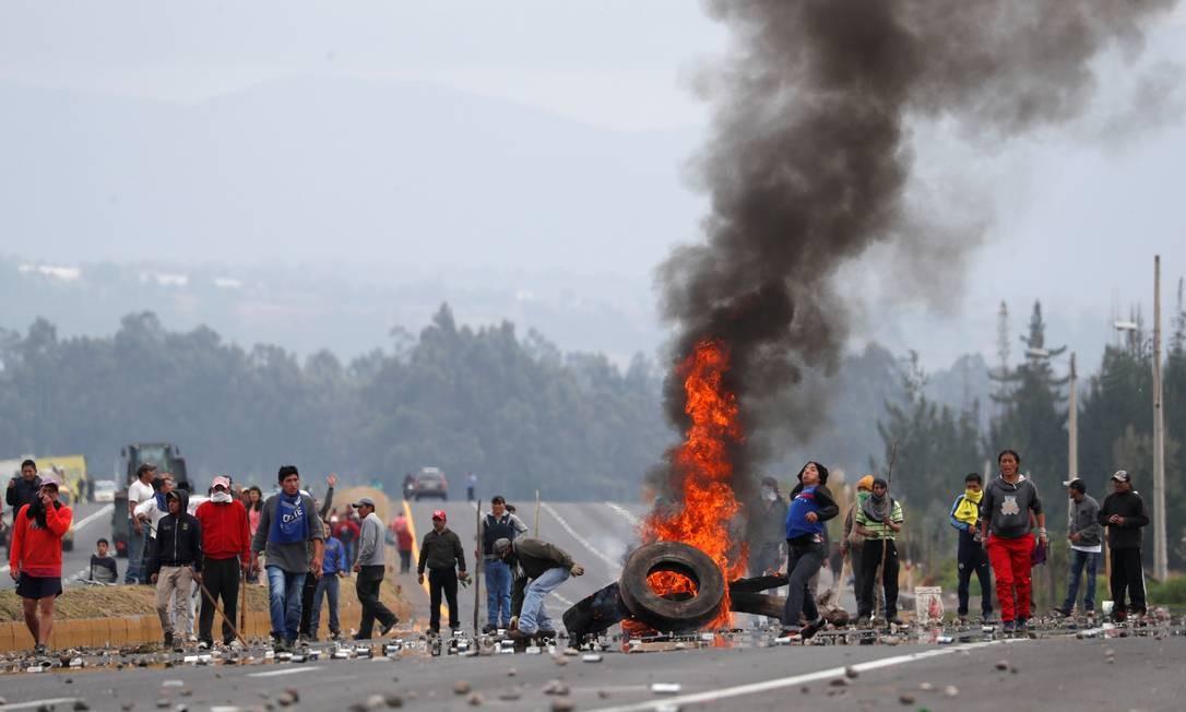 Com o fim dos subsídios, preços dos combustíveis aumentaram até 123 % Foto: CARLOS GARCIA RAWLINS / REUTERS