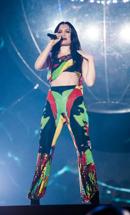 O look de Jessie J Foto: Mauricio Santana / Getty Images