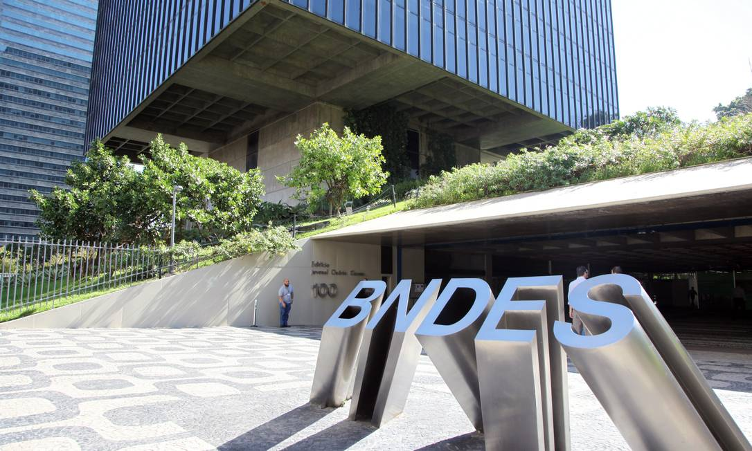 Sede do BNDES Foto: Lucas Tavares / Agência O Globo