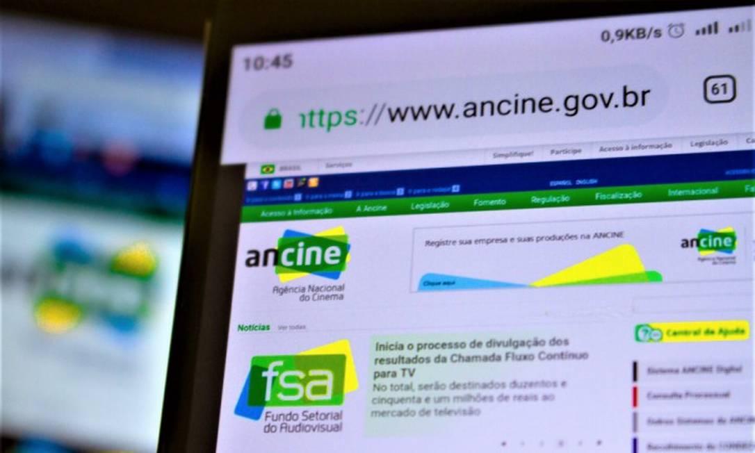 Ancine vive crise no governo Bolsonaro Foto: Agência O Globo