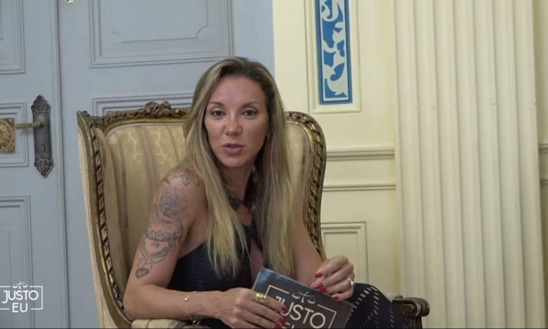 Mirela Erbist, juíza da 3ª Vara de Fazenda Pública, tem um canal no Youtube para discussão de temas relevantes Foto: Reprodução