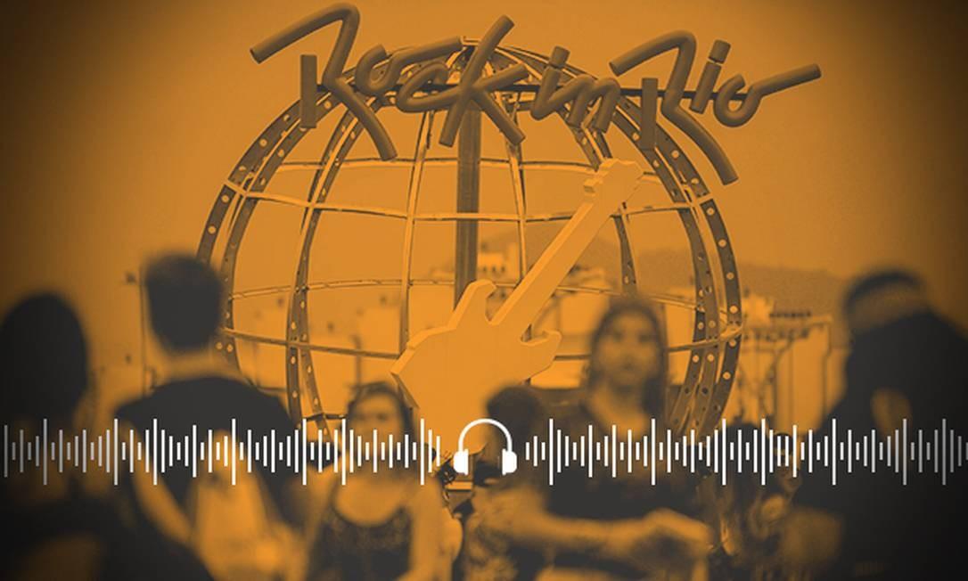 Ao Ponto: De playback a piruetas no ar, o que vai ficar na memória do Rock in Rio Foto: Arte