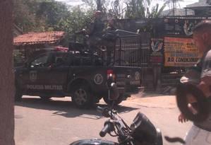 Polícia descobre que traficantes da Cidade de Deus monitoravam favela com ajuda de moradores Foto: Reprodução