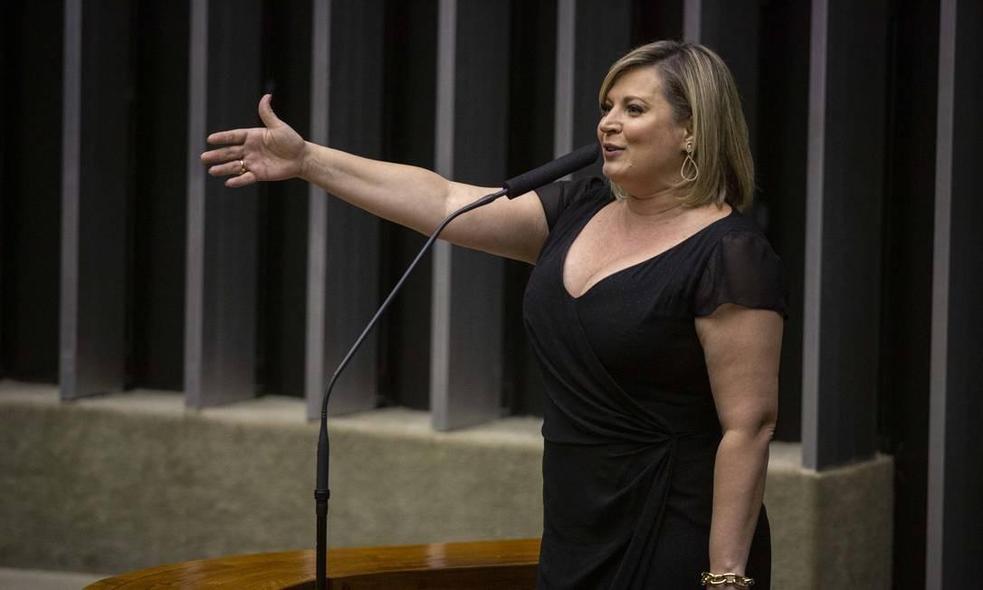 A deputada federal Joice Hasselmann (PSL-SP) 24/09/2019 Foto: Daniel Marenco / Agência O Globo
