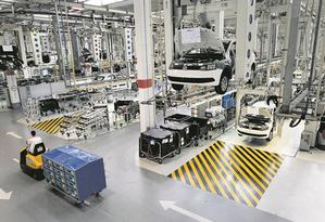 Fábrica de automóveis em São Paulo: capital paulista gerou mais de 58 mil empregos formais. Foto: Agência O Globo