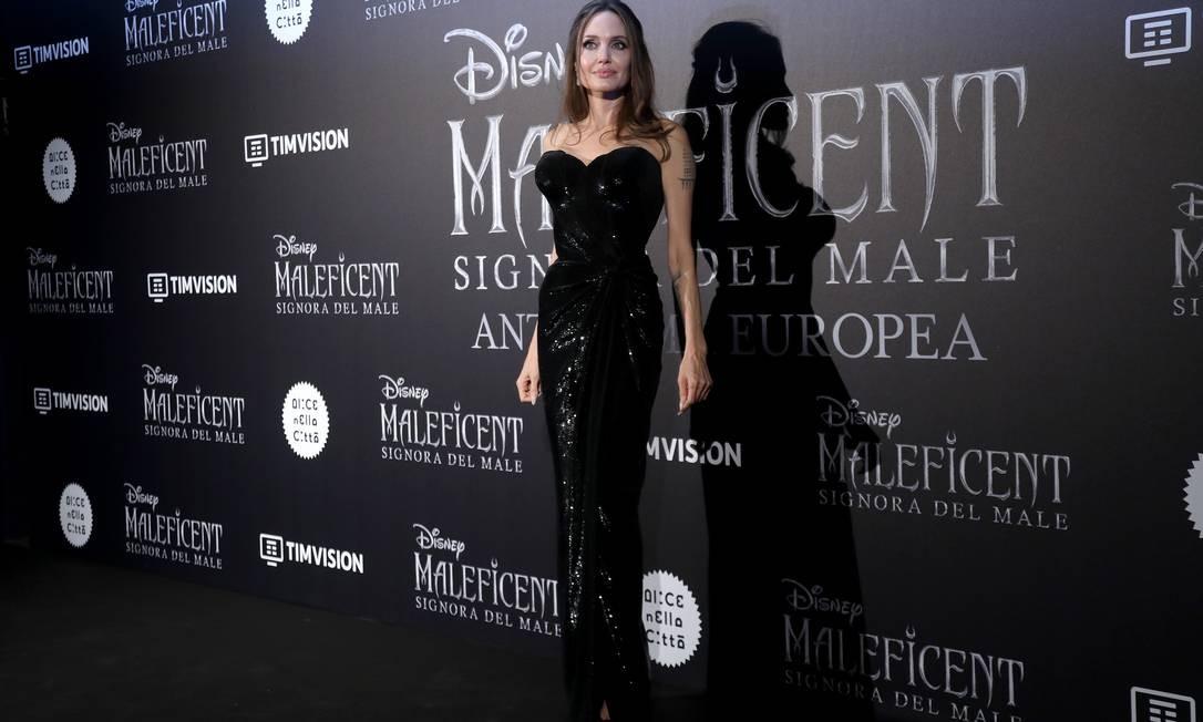 Angelina Jolie, de Versace Foto: Franco Origlia / Getty Images
