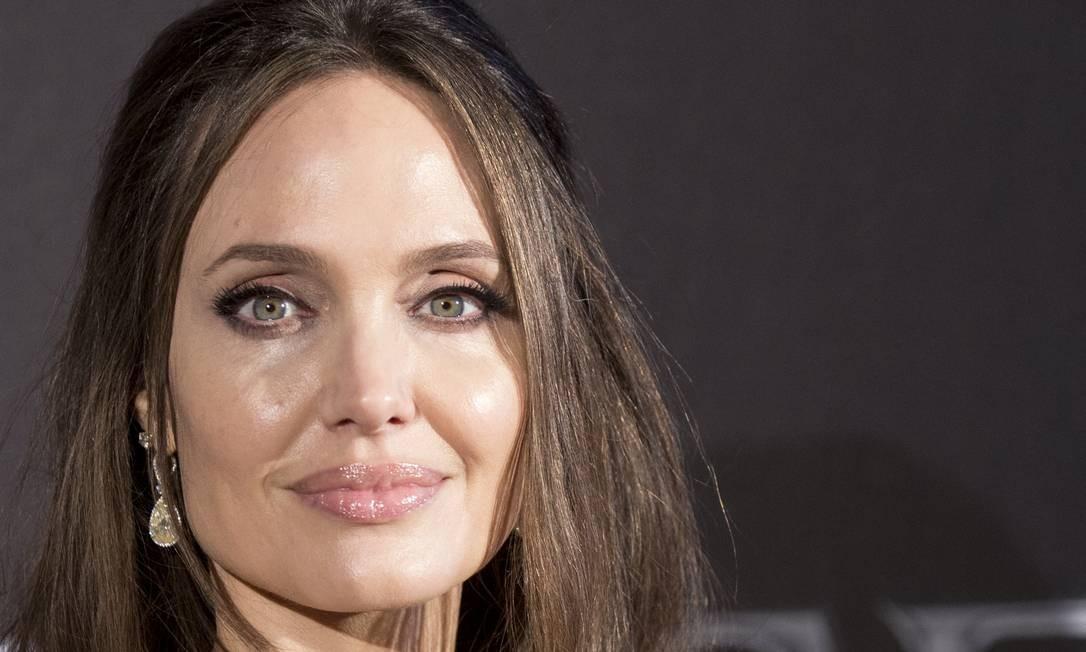 A beleza de Angelina Jolie Foto: Alessandra Benedetti - Corbis / Corbis via Getty Images