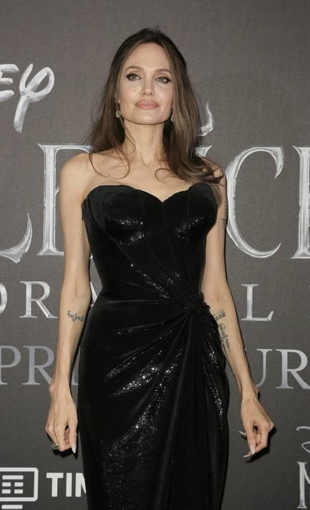 Angelina Jolie, de Versace Foto: Ernesto S. Ruscio / Getty Images