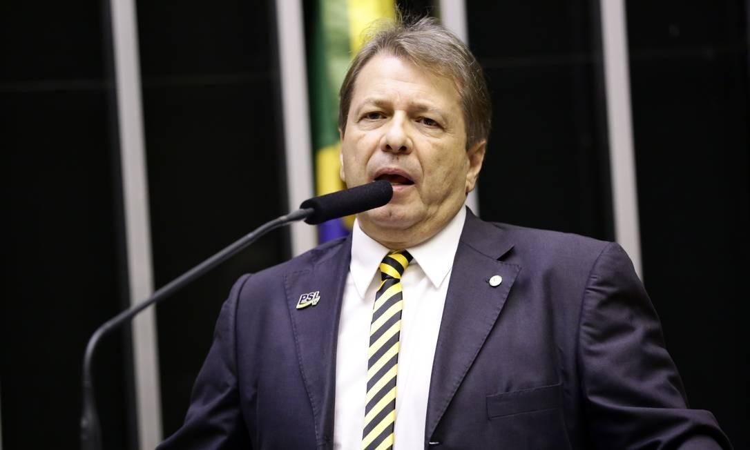 Deputado Bibo Nunes (PSL-RS) Foto: MJS / Michel Jesus/Câmara dos Deputados