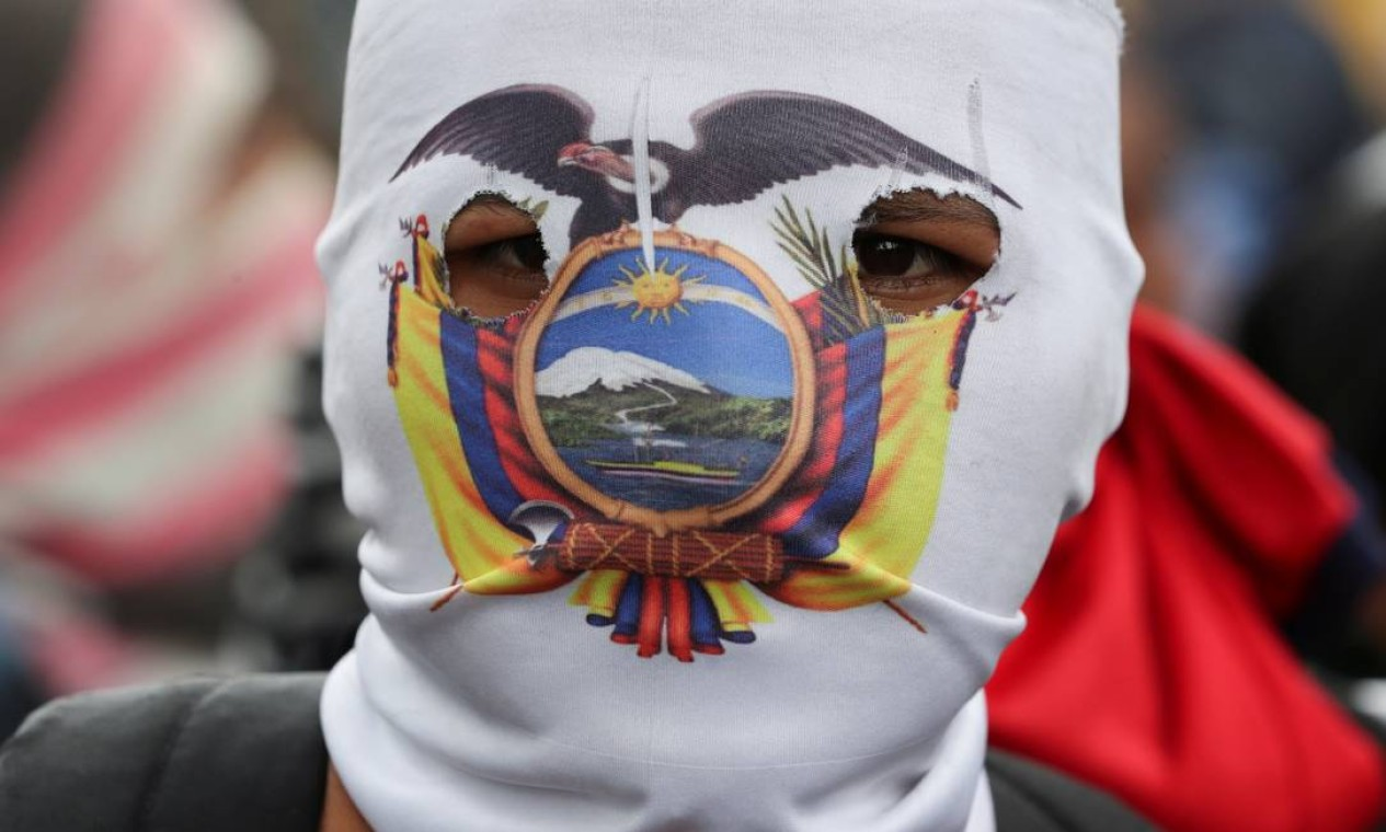 O movimento indígena é tão forte no país que em 2004 foi o responsável por derrubar diversos presidentes na década de 1990 e início dos anos 2000 Foto: IVAN ALVARADO / REUTERS