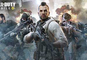 """""""Call of Duty: Mobile"""". Foto: Reprodução do Facebook"""