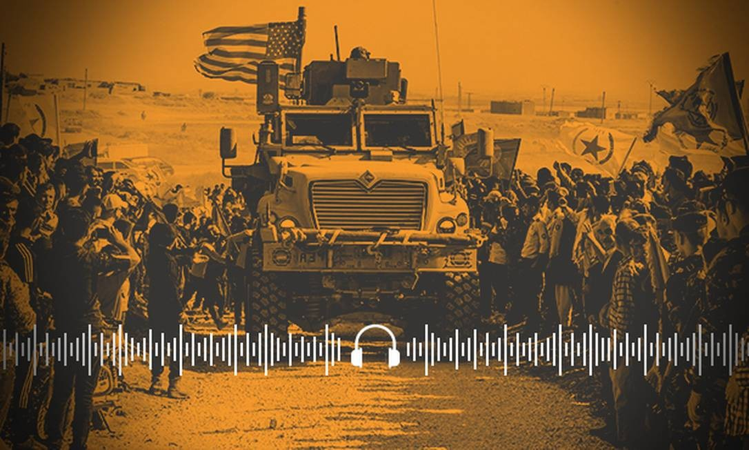 Ao Ponto: Quem ganha com saída do exército americano da Síria? Foto: Arte