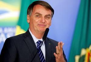O presidente Jair Bolsonaro 08/10/2019 Foto: ADRIANO MACHADO / REUTERS