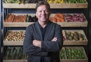 O chef Claude Troisgros apresenta o reality 'Mestre do sabor' Foto: Fábio Rocha/TV GLOBO / Divulgação