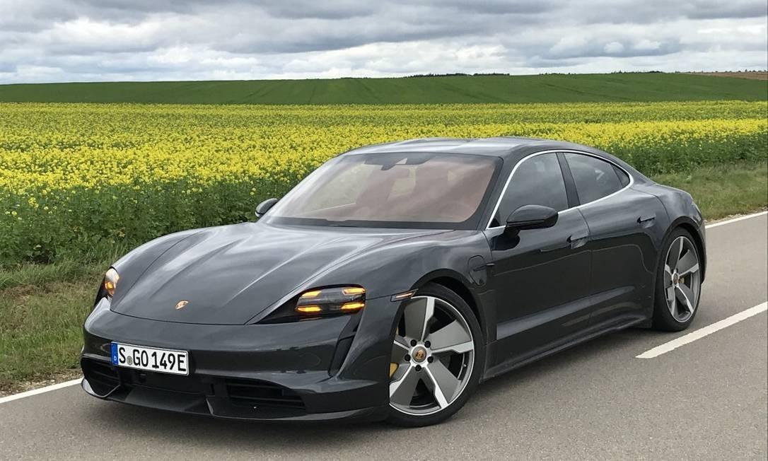Uma Viagem De 880km Com O Taycan O Primeiro Porsche Totalmente Eletrico Jornal O Globo