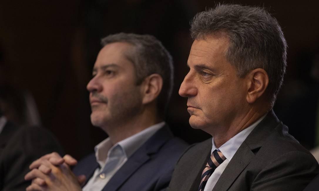 Rodolfo Landim, presidente do Flamengo Foto: Lucas Figueiredo/CBF