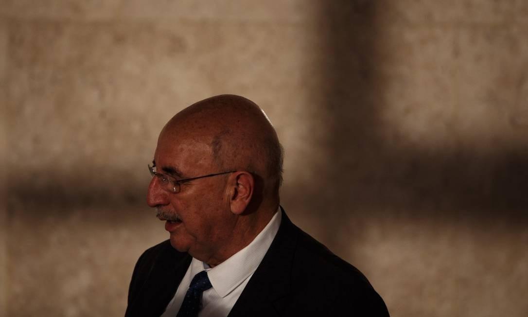 O ministro Osmar Terra voltou atrás de exonerações na Funarte Foto: Daniel Marenco / Agência O Globo