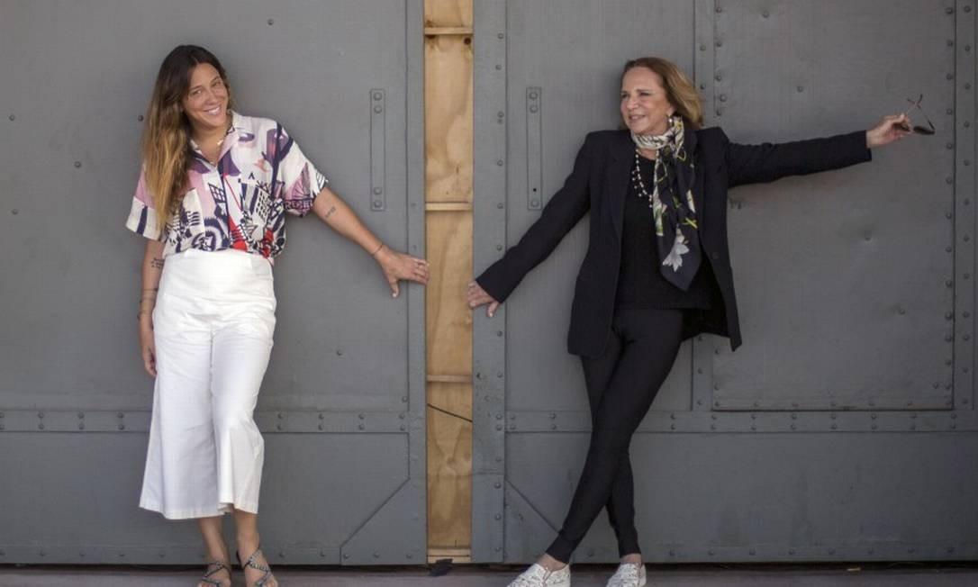 Lenny Niemeyer e a filha BelNiemeyer Foto: DANIEL RAMALHO / Agência O Globo