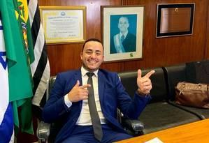 Everton Sodario, prefeito de Mirandópolis Foto: Reprodução/Facebook