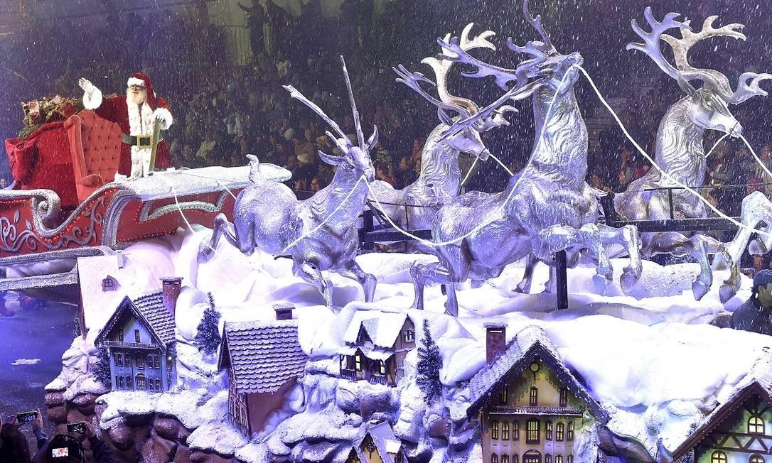 Desfile de Natal da edição de 2015 do Natal Luz de Gramado Foto: Cleiton Thiele / SerraPress / Divulgação