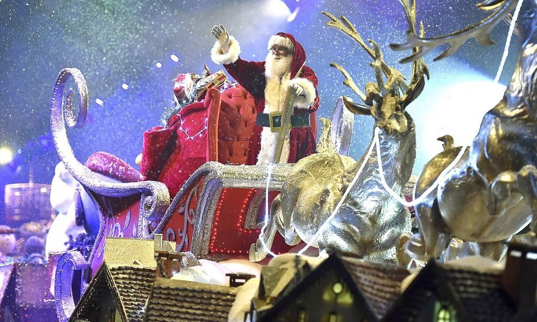 O Desfile de Natal é um dos pontos altos do Natal Luz de Gramado Foto: Cleiton Thiele / SerraPress / Divulgação