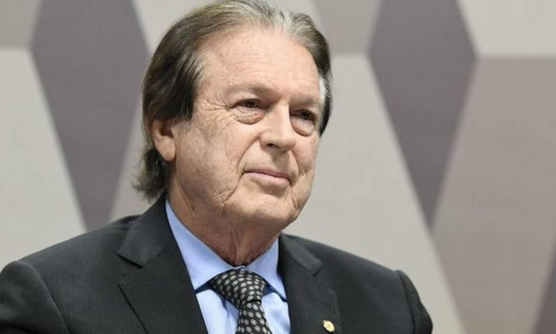 O presidente do PSL, Luciano Bivar Foto: Agência Senado