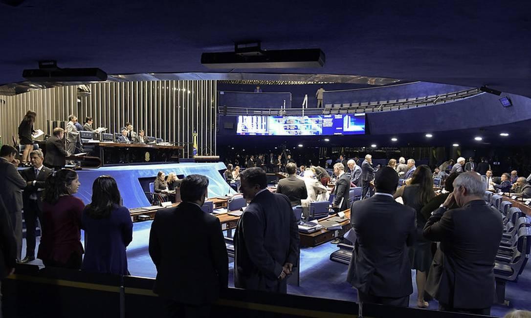 Senado aprova MP que acelera venda de bens apreendidos de traficantes de drogas Foto: Waldemir Barreto/Agência Senado