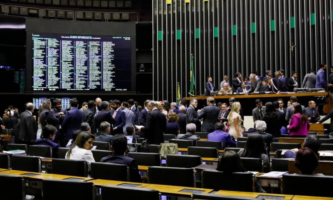 Plenário da Câmara dos Deputados 09/10/2019 Foto: Agência Câmara