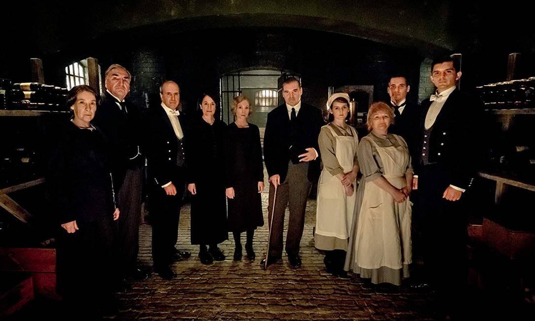 Cenas do filme 'Downton Abbey' Foto: Divulgação/Universal Pictures