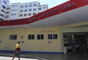 Fachada do Hospital Azevedo Lima Foto: Arquivo / 03/10/2018 / Roberto Moreyra / Agência O Globo