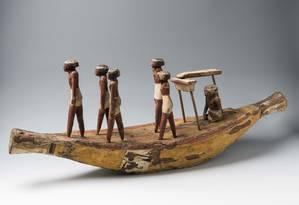 Uma das peças 140 peças da exposição 'Egito Antigo: do cotidiano à eternidade', em cartaz até janeiro no CCBB. Foto: Museo Egizio / Divulgação