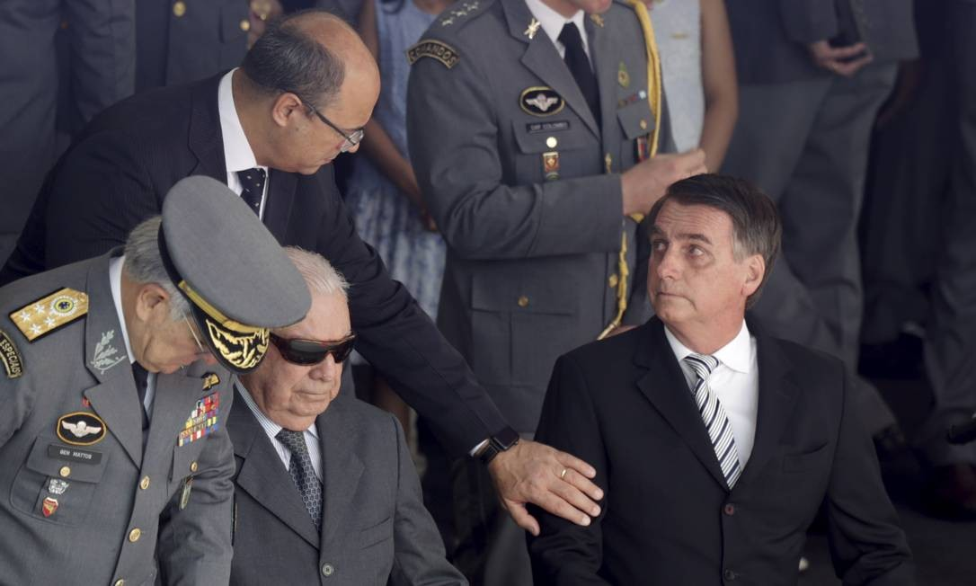 Witzel afirmou que desavenças com Bolsonaro está no campo da política, e que os dois precisam trabalhar 'em harmonia' Foto: Gabriel de Paiva / Foto de arquivo: 9/11/2018 / Agência O Globo