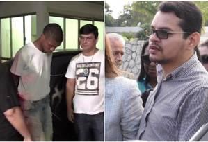 Filhos de Flordelis começam a ser julgados no fim do mês; Lucas (esq.) e Flávio (dir.) Foto: Reprodução