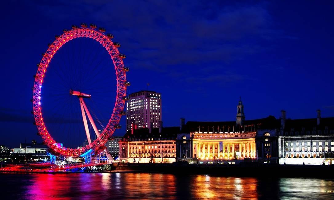 London Eye, em Londres Foto: Creative Commons / Reprodução