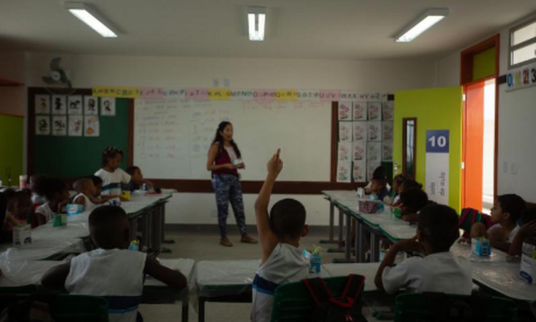 Fundeb é a principal receita do ensino básico brasileiro Foto: Brenno Carvalho / Agência O Globo.