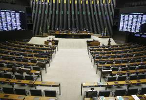 Sessão na Câmara dos Deputados Foto: Jorge William / Agência O Globo/10-09-2019