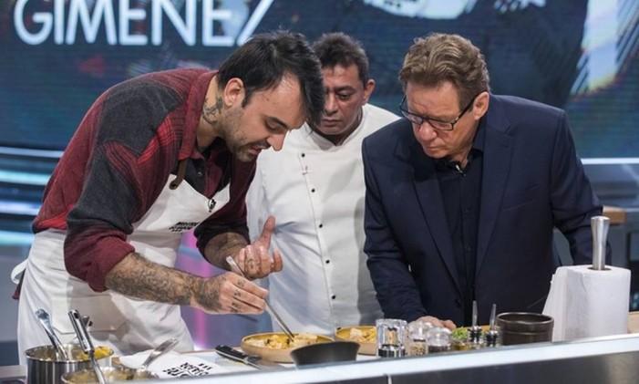 O chef Diego Gimenez, participante do 'Mestre do sabor' Foto: Divulgação