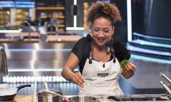 A chef Seichele Barboza, participante do 'Mestre do sabor' Foto: Divulgação