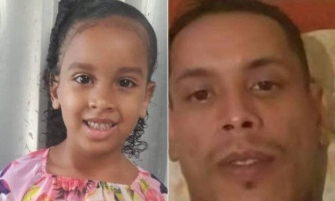Estela e Paulo: Justiça decretou prisão de tio pela morte de sobrinha Foto: Reprodução