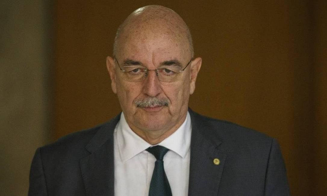 Osmar Terra, Ministro da Cidadania Foto: Daniel Marenco / Osmar Terra, Ministro da Cidadania: portaria suspensa pela Justiça