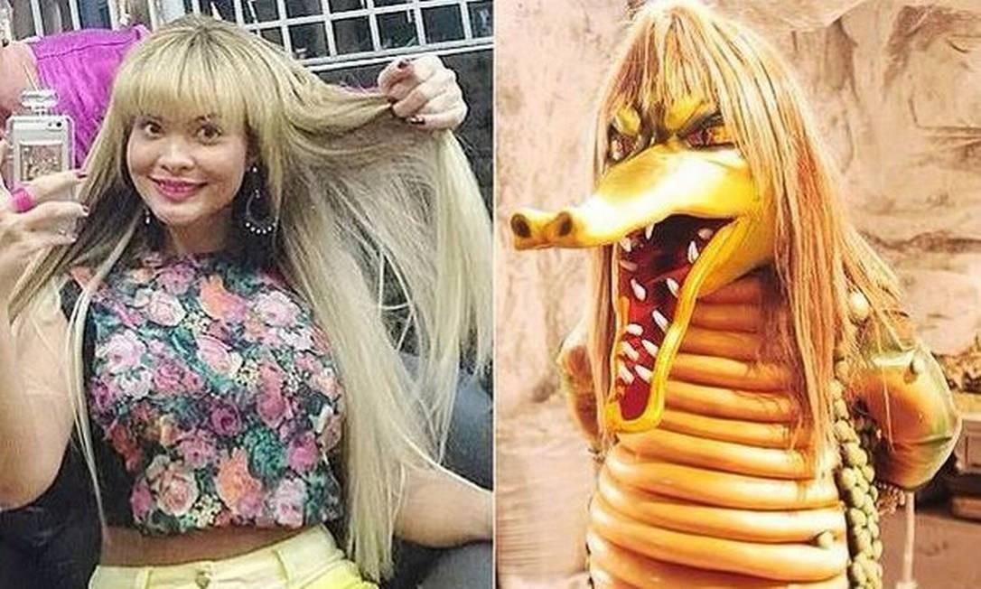 Geisy Arruda posta foto do novo visual na internet, mas internautas não perdoam e a comparam com a Cuca, do Sítio do Piaca-Pau amarelo Foto: 14/10/2014