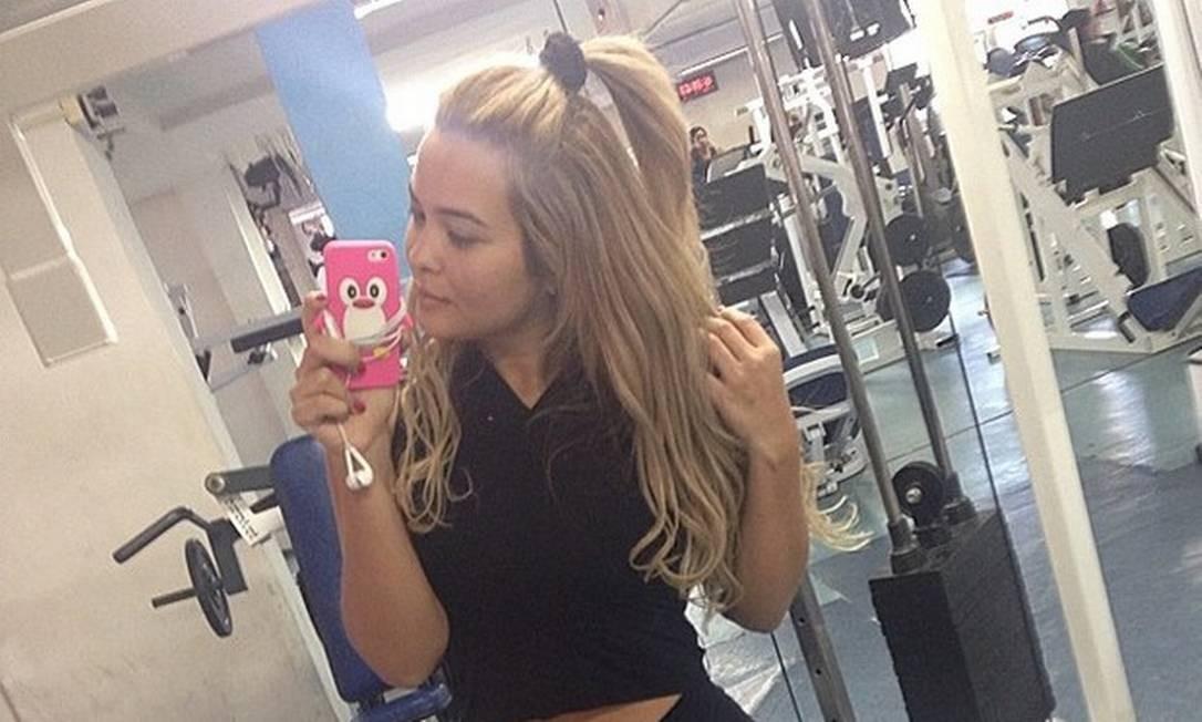 Geisy anuncia que emagreceu 10 quilos nas redes sociais Foto: Reprodução