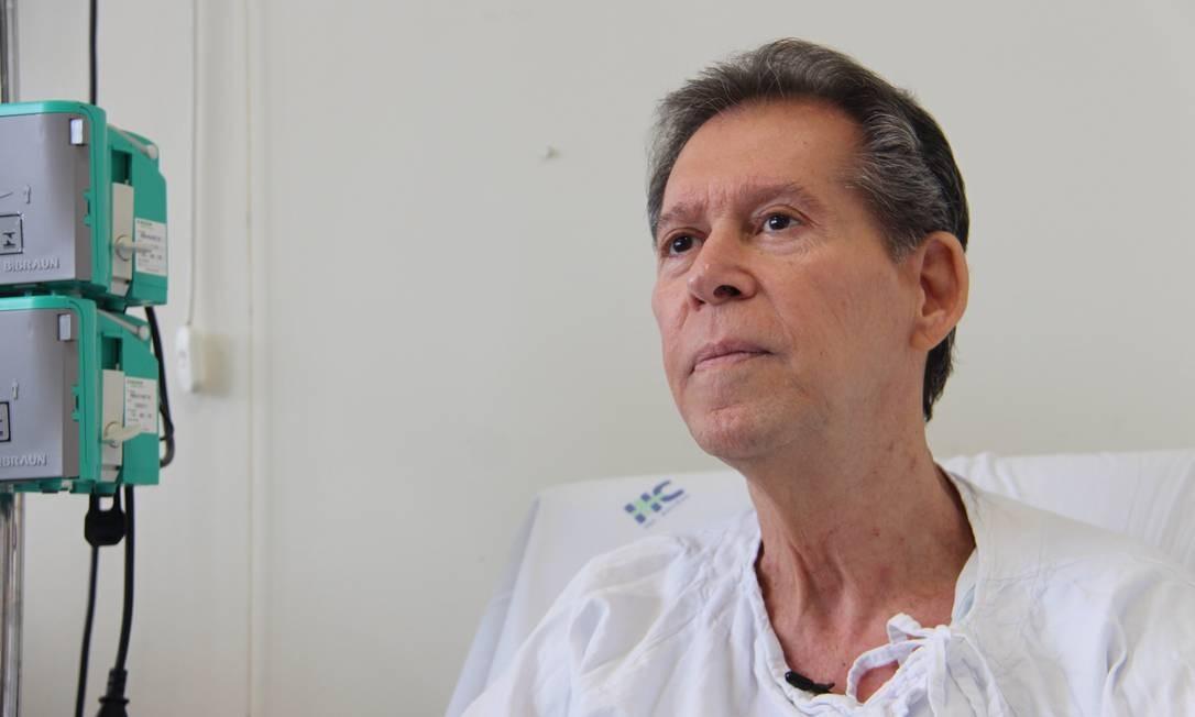 O paciente Vamberto teve remissão do câncer após passar por um tipo de tratamento inédito no Brasil Foto: Divulgação
