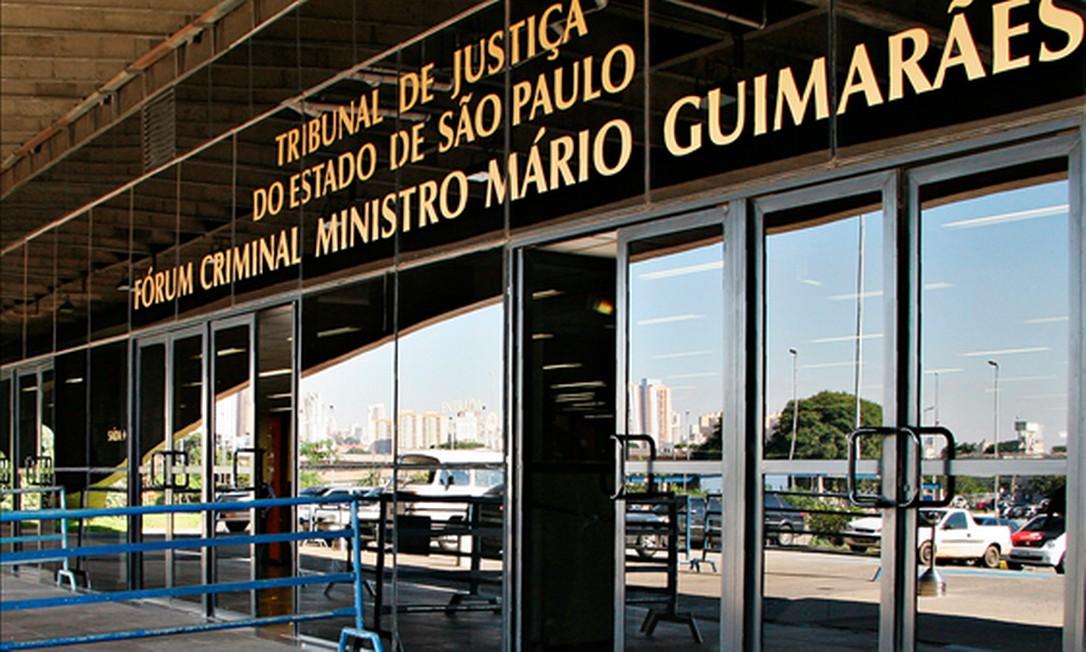 Fórum Central Criminal, na Barra Funda, em São Paulo Foto: Divulgação/ Site TJ-SP