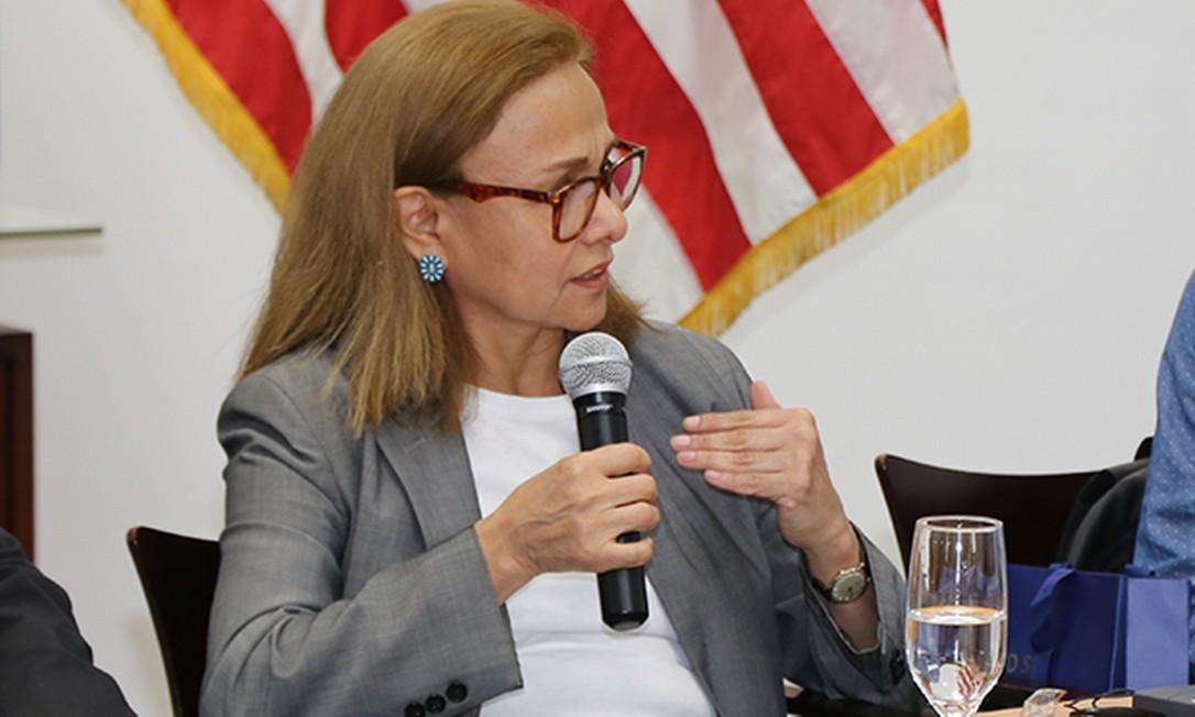 A jornalista americana Ana Arana Foto: Consulado Geral dos Estados Unidos no Brasil