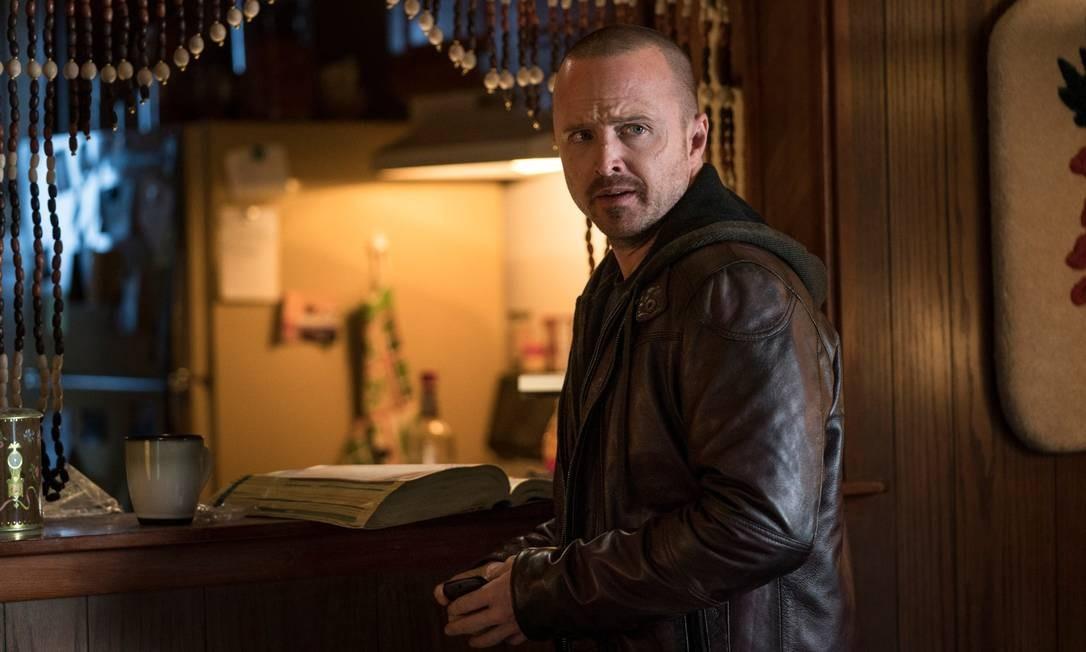 Em 'El camino', Aaron Paul faz o papel de Jesse, assistente de Walter White (Brian Cranston) Foto: Divulgação